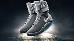 「バック・トゥ・ザ・フューチャー PART2」のスニーカー、実際に商品化。自動で紐を締める「Nike