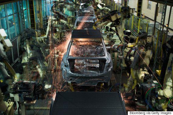 労働者からロボットへの切り替えが最も速いのは、意外な国かもしれない。