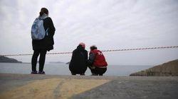 韓国船沈没、最初の通報は乗客少年「僕たちを助けて」