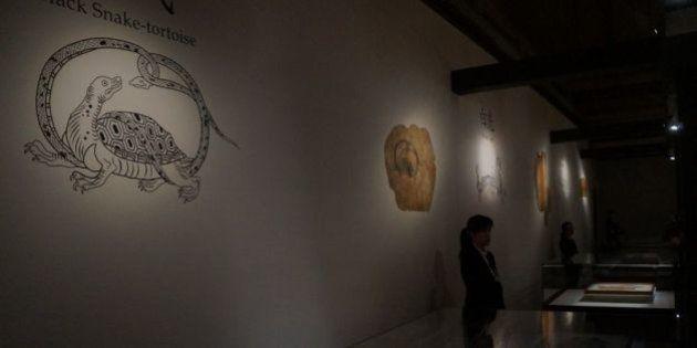キトラ古墳の壁画が東京国立博物館で公開