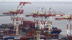 貿易赤字、過去最大の13.7兆円 初の3年連続