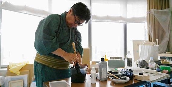 03 | 書家が祈る部屋 ~ Artist Room Zen