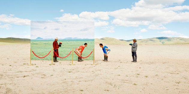 気候変動にさらされた「砂漠化が進むモンゴル」30年の移り変わり(画像)