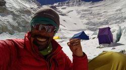 なすびさん、エベレスト登頂に成功 4度目の挑戦で「山頂です!青空!」