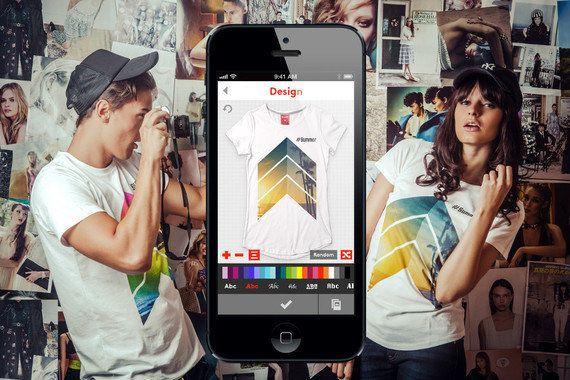 今年の夏服はスマホで作る。クリエイティブなTシャツ作れるアプリ