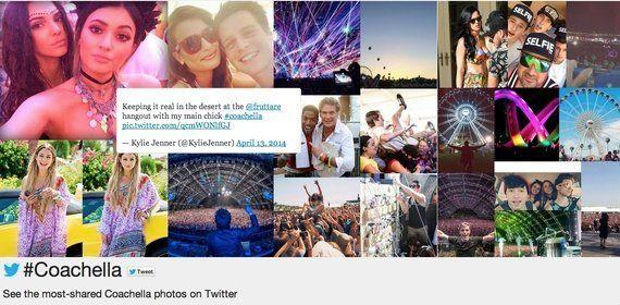 Twitter社、世界最大級の野外フェス「コーチェラ・フェスティバル」のリアルタイム・ツイートが信じられない速度で広がる世界地図を公開