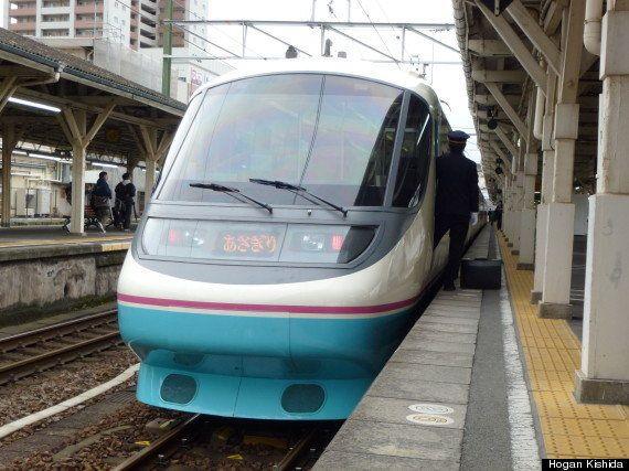 元小田急電鉄20000形RSE、富士急行入線!!