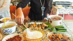 伝統的な家庭料理「アンブヤット」は噛まずに飲み込む?