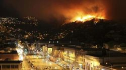 チリ・バルパライソで大規模火災 11人死亡・500棟焼失