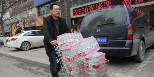 中国蘭州市で水道水から発がん性物質、基準値の20倍