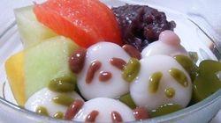 かわいすぎる!夏のひんやりスイーツ「白玉パンダ」にご注目!