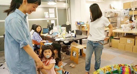 「子連れ出勤」を小さな常識に。導入起業を100社に増やすため立ち上がったベンチャー企業
