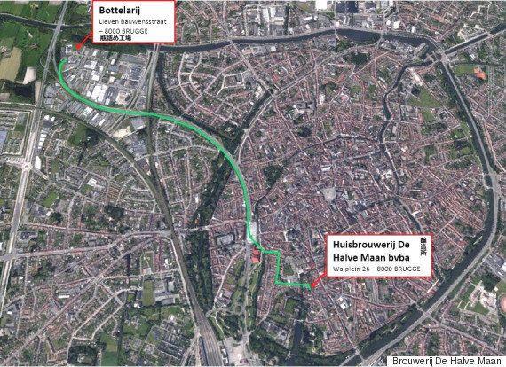 ビール専用のパイプライン、ベルギー世界遺産の街で建設中 なぜ?