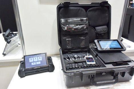 テロ対策特殊装備展が開催 デバイスからSNSまで全ての情報を解析するツールなど展示