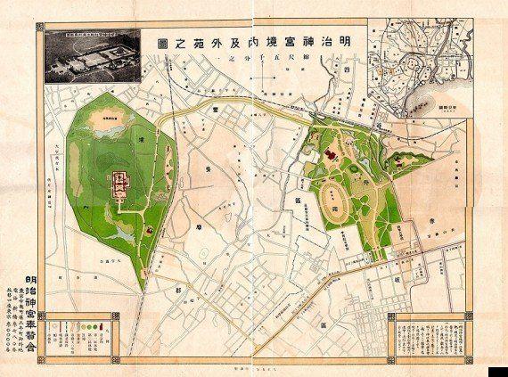 東京の森(2)神宮の森は献木でできている