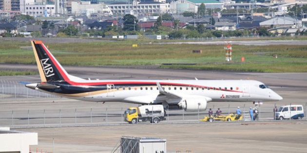 MRJ、いよいよ初飛行へ 半世紀ぶりの国産旅客機