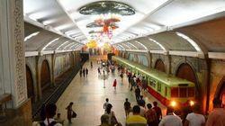 北朝鮮の地下鉄の深さがわかる【動画と画像集】