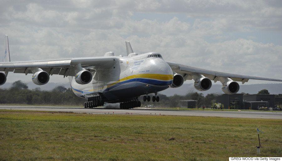 これが世界最大の輸送機だ An-225「ムリーヤ」がオーストラリアに到着