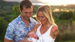 サメに襲われ生き残ったサーファー、ベサニー・ハミルトンさんに男の子の赤ちゃんが誕生