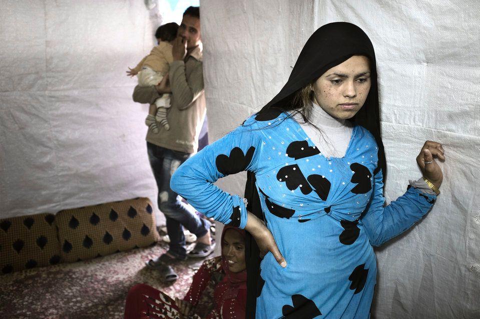 レバノンのシリア人難民少女の24%は、18歳までに強制結婚させられる