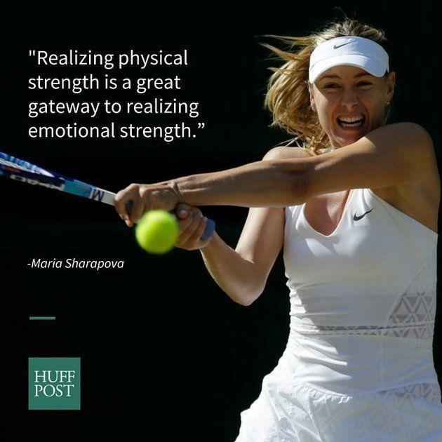 マリア・シャラポワが教えてくれた、より強い女性になるための6つの方法