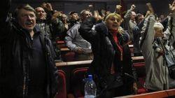 ドネツク人民共和国の創設を宣言 ウクライナ東部で親ロシア勢力