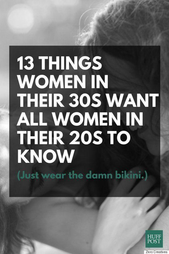 30代女性が、すべての20代女性に知ってほしい13のこと「サンドバーグは正しかった...」