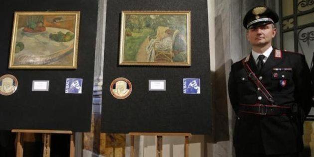 ゴーギャンの盗難画、3000円で買って台所に飾っていたことが判明