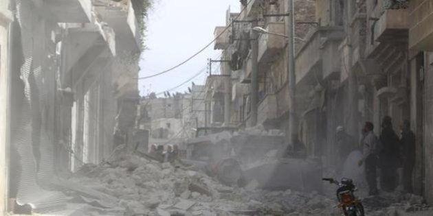 シリア内戦の死者が15万人超える、3分の1は民間人=人権団体