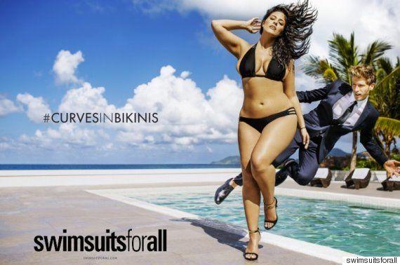特大サイズのモデルの歴史的な水着特集 アシュリー・グラハムがスポーツ・イラストレイテッド誌に登場