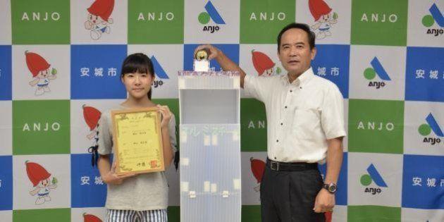 小6女子が特許 アルミ缶・スチール缶を自動分別するゴミ箱、どんなしくみ?