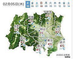 関東 いまは雨でも夕方以降広く雪(戸田よしか)