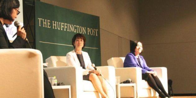 ハフポスト2周年イベントで開かれた特別鼎談「未来のつくりかたーーP&Gの柔軟な働きかた」