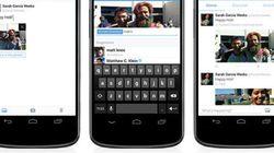Twitterが1ツイートに4枚までの写真添付や人物のタグ付けに対応。プライバシー設定も追加