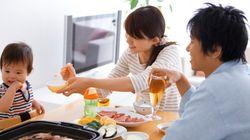 週に何回、家族そろって夕食を食べていますか?