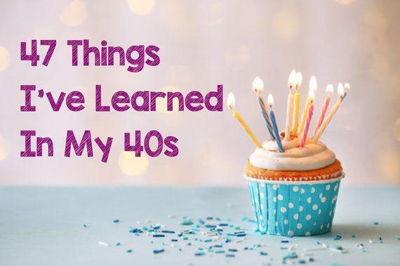 40代で学んだ、若い時の自分に伝えたい47つのこと
