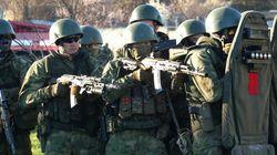 ロシア軍、ウクライナ国境に大規模部隊を展開