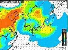関東以西 花粉とPM2.5に注意(戸田よしか)
