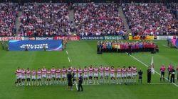 ラグビーワールドカップ2015 サモア戦