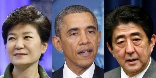 日米韓首脳会談、3月24~25日に開催