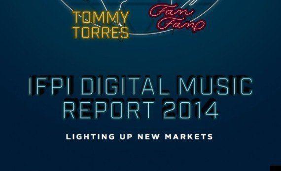 世界の音楽市場レポートが公開、2013年は売上3.9%ダウン、音楽ストリーミングは50%以上成長