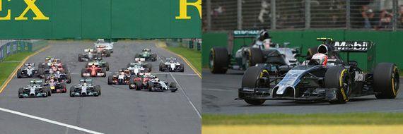 F1マシンの音を現地映像で比較!