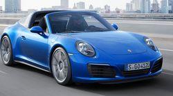 ポルシェ、新型「911カレラ4」と「911タルガ4」を発表 特徴は?【動画あり】