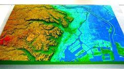 『地理院地図3D』公開、全国の地図をウェブで立体表示。3Dプリンタで模型出力にも対応