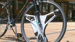 手持ちの自転車が1分で電動アシスト付きに。交換ホイール「GeoOrbital
