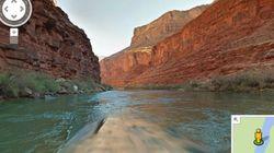Googleマップ、今度はコロラド川の川下りが楽しめるようになった