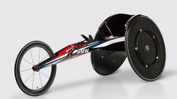 BMWがパラリンピックに本気を出した。競技用車いすが美しい