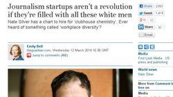 〝未来のジャーナリズム〟は男性クラブか