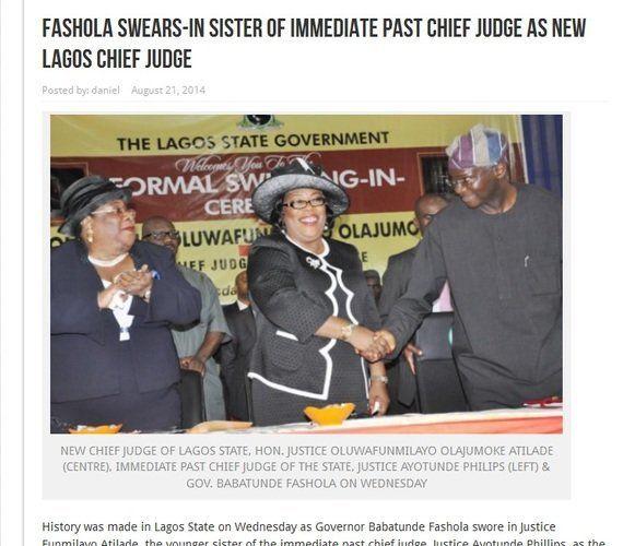 「司法の独立」の裏で書類偽造、犯罪者を逃がすナイジェリアの判事たち