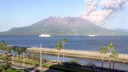 桜島が4000m超の爆発的噴火 その一部始終をタイムラプス動画は捉えた